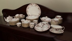 "Minton Dinner Service For Twelve - ""ancestral"""