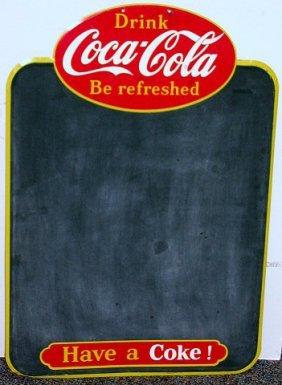 286 Vintage Drink Coca Cola Chalkboard Coke Menu Board