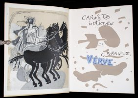 Double Issue Of Verve - Georges Braque