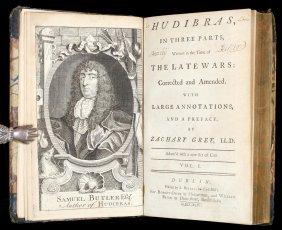 Butler's Hudibras With Hogarth Illustrations