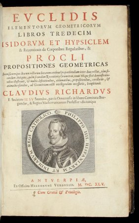 Euclid's Elements 1645