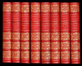 Lord Byron's Works 8 Volumes 1853