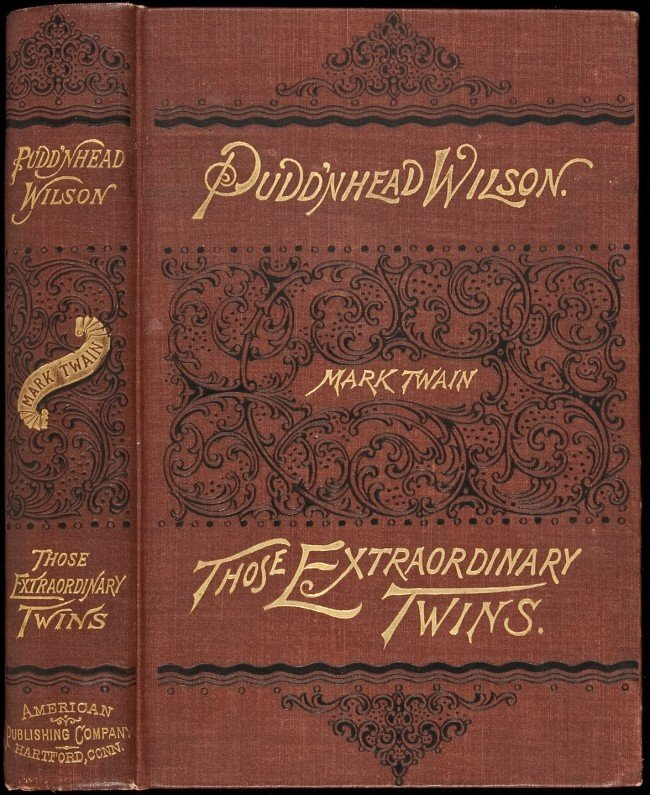 "pudd nhead wilson essays Puddnhead is, very much like roxy and the other racially confused characters, outcast and burdened by this lack of ready classification it seems as though this is the final message twain wishes to leave his readers of ""puddn'head wilson"" with—that in some ways the inability to classify as the result of."
