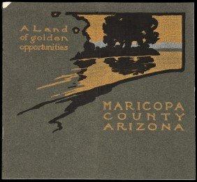 Scarce Maricopa County, Arizona, Promotional 1905
