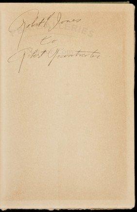 Down The Fairway Reprint Ed, Signed Bobby Jones