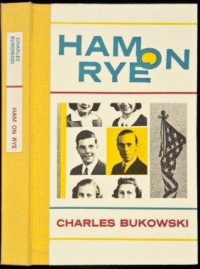 Charles Bukowski Ham On Rye Signed Ltd Edn