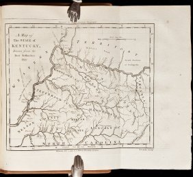 Imlay's Western Territory With Maps 1793