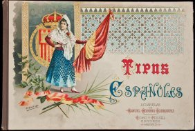 Color Plates Of Spanish Costume