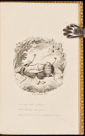 George Cruikshank The Bee And The Wasp