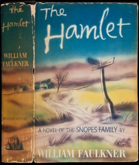 William Faulkner The Hamlet First Edition Jacket