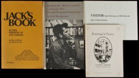 Four Books And Booklets About Jack Kerouac