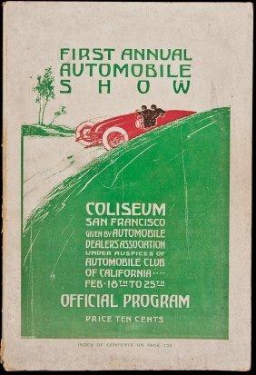 First Annual Auto Show, San Francisco, 1907