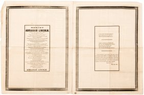 Lincoln's Death In Newspapers