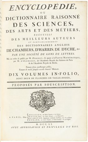 Complete Diderot Encyclopedie