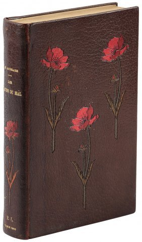 Baudelaire In A Fine French Binding