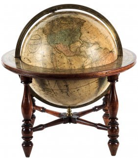 Table Top Globe With Stand 1846