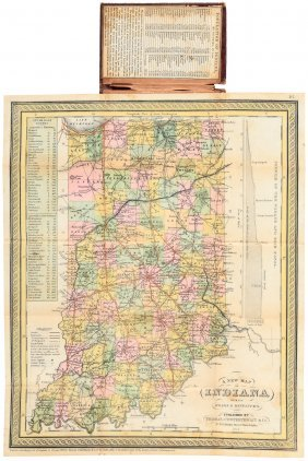 A New Map Of Indiana