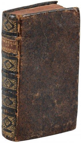 La Parfaite Grammaire Royale 1745