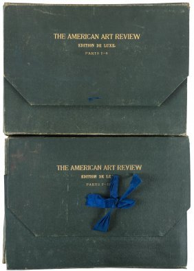 American Art Reviews In 12 Parts Plus Proofs