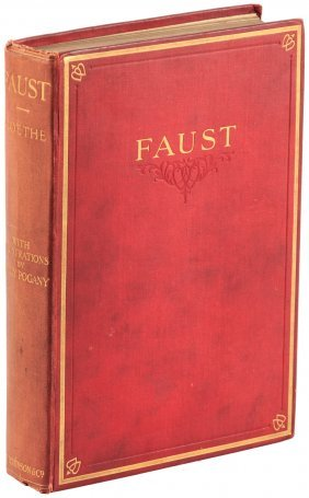 Willy Pogany Illustrated Goethe's Faust