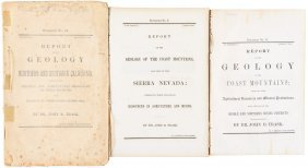 Trask Reports On California Geology 1854-56
