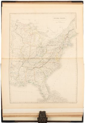 Black's Atlas With Maps By Sidney Hall 1841