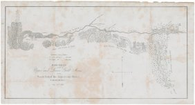 Mines On South Fork Of American River 1848