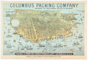 Rare San Francisco View C.1880