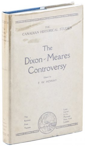 Dixon-meares Controversy 1/500 1929