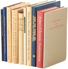 Ten Volumes Of Overland Exploration
