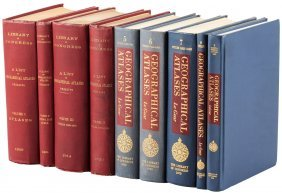 List Of Geographical Atlases 9 Vols
