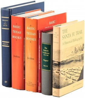 Six Volumes On Texas And The Southwest