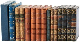 14 Finely Bound Volume Of Poetry