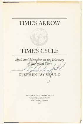 Time's Arrow, Time's Cycle, Stephen Jay Gould - Signed