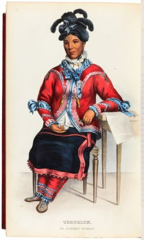 Mckenney & Hall's Indian Tribes 120 Color-plates