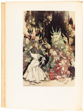 Peer Gynt Arthur Rackham Signed Limited Edition