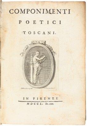 Componimenti Poetici Toscani 1750