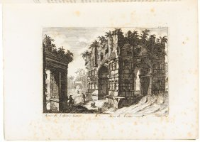 Roman Antiquities Engravings By Piranesi And Others