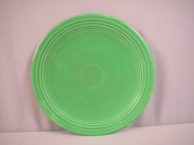 "Fiesta Medium Green 13"" Chop Plate"