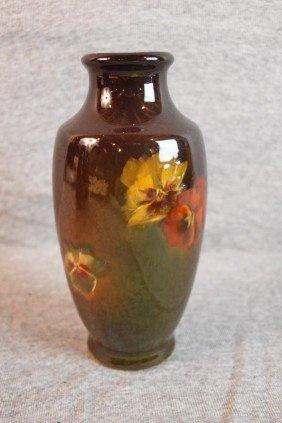 Weller Louwelsa Standard Glaze Art Pottery Vase Wi
