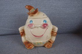 Brush Humpty Dumpty Cookie Jar