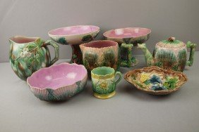 ETRUSCAN Lot Of 8 Pieces - Shell And Seaweed - Com