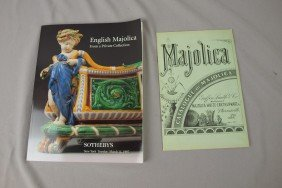 Auction Catalog From Sotheby's English Majolica Au