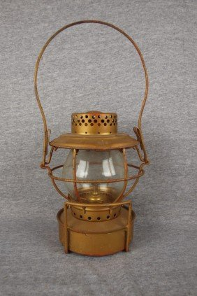 "Handlan Lantern Embossed ""IHD"""