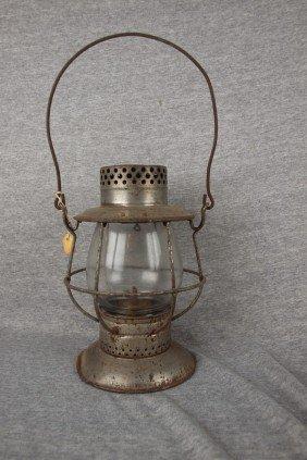 Dietz No. 39 Railroad Lantern With Clear Globe