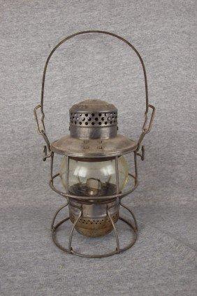 "Armspear ""1925"" Railroad Lantern With Clear Globe,"