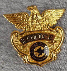 Chessie System Police Badge