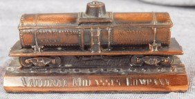 National Molasses Co Tanker Car Desk Paperweight