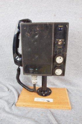 C&ORR Railroad Engine Radio