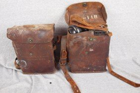 Pair Of WWII Signal Corps US Army Telephones, EE-